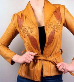 East West Del Rosa flower-embroidered jacket (LivingThreads Vintage, etsy)