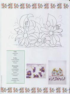 Pintura em Tecido - Gravuras e Riscos - N33 - Selia Regina - Álbuns da web do Picasa