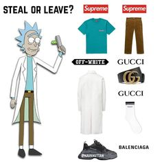 Trendy Outfits, Fashion Outfits, Mens Fashion, Rapper Outfits, Nike Airforce 1, Yeezy 500, Gucci Sneakers, A Bathing Ape, Box Logo