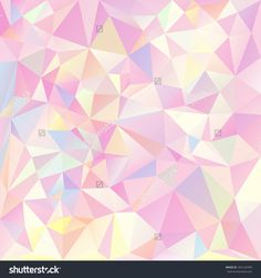 Vector Polygonal Background With Irregular Tessellations Pattern ...