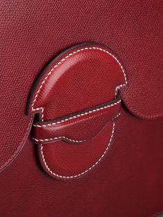 Hermès Vintage Porte-documents En Cuir - - Farfetch.fr