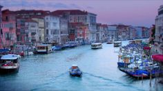 Exquisite time-lapse video of Venice; such a magical place