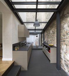 Renovating a house – Paris – THINK TANK architecture