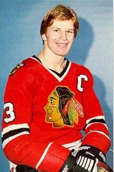The late great Keith Magnuson Chicago Blackhawks Players, Blackhawks Hockey, Hockey Players, Tennis Players, Chicago Bears, Maurice Richard, Football Stadiums, Nfl Football, Baseball