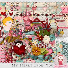 My heart for you kit by Neia Arantes