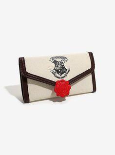 Harry Potter Hogwarts Letter Flap Wallet,