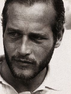 Vintage Beard; Paul Newman