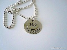 Marathon Runner's Sterling Silver Layered by TheSterlingCharm, $30.00