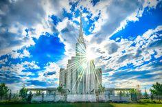 Arise and Shine Forth. Oquirrh Mountain LSD Temple #LDS #Photog #Art #Mormon