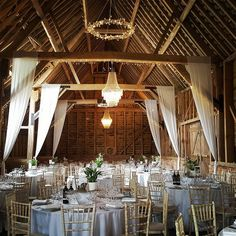 How gorgeous is today's venue! Large Chandeliers, Farm Barn, Professional Photographer, Table Settings, Wedding Photography, Table Decorations, Instagram, Home Decor, Videos