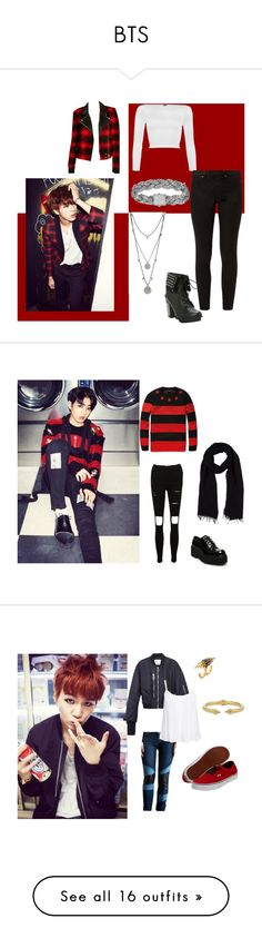 """BTS"" by lovelyseoul784 on Polyvore"