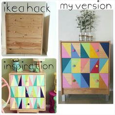 Ikea (rast) hack - idea for fireplace coverup
