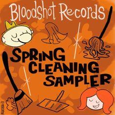 Bloodshot Records Spring Cleaning Sampler $0.00