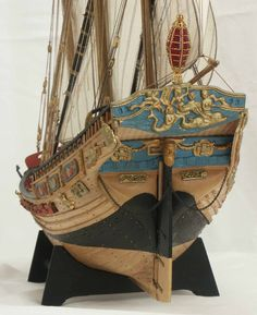 Wooden Model Boats, Wooden Boats, Hms Victory, Ship Of The Line, Model Ships, Sailing Ships, Victorious, Pirates, French