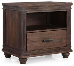 The City Night Stand - traditional - nightstands and bedside tables - Indeed Decor