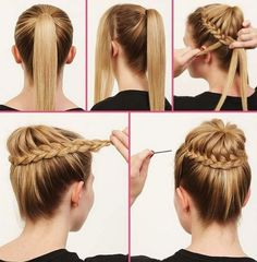 The Braided Bun - Bun Hairstyles with Pictures (Within 5 Steps!) - EverAfterGuide
