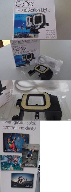 Lights 29575: Gopro Led 16 Action Water Proof Video Light. Platinum Plus BUY IT NOW ONLY: $30.0