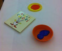 """Leggere """"Quanti Colori"""" di Alex Sanders, Babalibri + attività di con i colori e pennelli"""