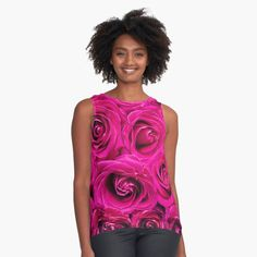 """Pink Roses"" Contrast Tank by Goshadron | Redbubble #contrasttank #pinkroses #roses #background #backdrop #pink #romance #romantic #valentine #love #floral #blossoms #greeting #spring #wedding #birthday #invitation #card #texture #postcard #pattern #design #art #fashion #shirts #friends #giftidea #giftforhim #gift #gifts #giftideas #style #fashionstyle #women #girls #newshirt #favoriteshirt #customshirts"