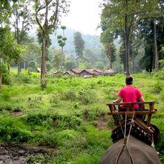 Exploring ancient villages in #Cambodia. #travel #AdventureHoney