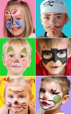 Modèles de maquillages pour un déguisement de dernière minute - Grandir avec Nathan