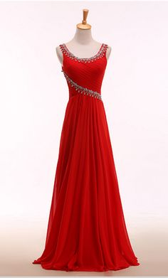 O Neck ,Charming Prom Dress, Sleeveless, Long Prom Women's Evening Dresses, Prom Dresses, Formal Dresses, Dress Prom, Dream Dress, Designer Dresses, Party Dress, Fashion Dresses, Indian Couture