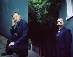 The young man took from his waistcoat a crumpled envelope; - MARK GATISS - A picspam