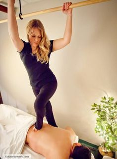 The Deepest, Most Luxurious Massage on The PLANET! Ashiatsu Oriental Bar Therapy