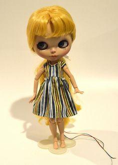 Blythe dress Blythe striped dress Blythe clothing Blythe