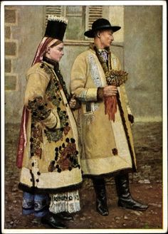 Hello all, Today I will do a short partial overview of the peoples and costumes of Transylvania. Much silliness has been written. Traditional Fashion, Traditional Dresses, Costumes Around The World, Art Populaire, Winter's Tale, Antique Clothing, Folk Clothing, Folk Costume, My Heritage
