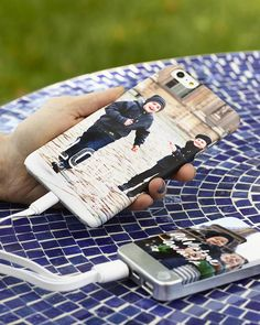 Never run out of battery with a portable charger. Create a custom case for your iPhone with Shutterfly.