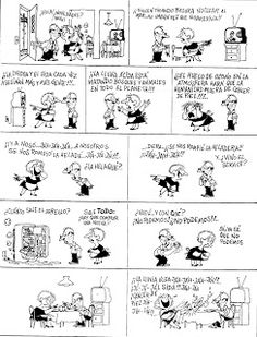 Everything & Nothing: Quino - ¡Yo no fui! Everything And Nothing, Humor, Comics, Meme, Funny, Humour, Funny Photos, Cartoons, Funny Humor