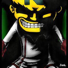 Dr.Neo Cortex by JenL (deviantart). A true masterpiece of my favorite mad scientist :)