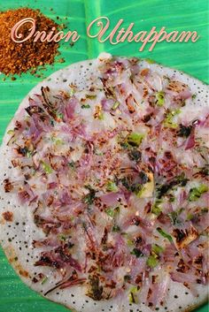 Onion Uthappam Recipe / South Indian Breakfast Recipes - Yummy Tummy