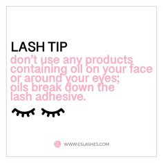 Lash tip oil based products - Eyelashes extension - Eyelash Shop Eyelash Extensions Aftercare, Best Lash Extensions, Volume Eyelash Extensions, Hair Extensions, Eyelash Logo, Eyelash Quote, Natural Makeup For Brown Eyes, Eyelash Extension Supplies, Eyelash Technician