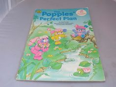"""vintage 1987 80's the popples """"popples perfect plan"""" softcover book from $7.77"""