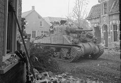 Tank in Overloon