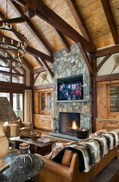 I want to mount my TV over the fireplace. Then I can put more couch space in the living room.