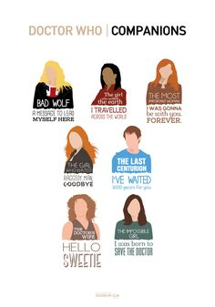 "longliveregina: "" Just finished my new Doctor Who designs!"" (The Doctor, See my other designs here """