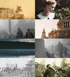 This collage captures TBH books 1&2 perfectly. ❤   Photo credits: La Regina del Lago Ilmen Il Cavaliere d'inverno on FB.