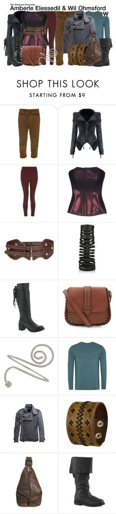 """The Shannara Chronicles"" by wearwhatyouwatch ❤ liked on Polyvore featuring Haider Ackermann, Oh My Corset!, Rick Owens, Rocket Dog, George, Sons of Heroes, Nemesis, Scully, Funtasma and women's clothing"
