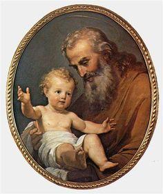 St Joseph Catholic, Catholic Art, Catholic Saints, Religious Art, Religious People, Religious Pictures, Jesus Pictures, Vintage Holy Cards, Christian Artwork