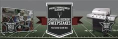 Project Management Academy's Football Kickoff Sweepstakes  http://projectmanagementacademy.net/promotions/2014/09/promotion_09-15-14.php?utm_source=September%20Promotion%20Email&utm_medium=email&utm_content=Register%20to%20Win&utm_campaign=SeptemberGiveaway