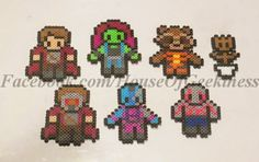 Here's a behind the scenes look at how these Guardians of the Galaxy inspired bead sprites were designed!  http://houseofgeekiness.blogspot.com/2014/10/crafting-guardians.html