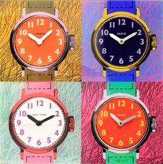 Unek Goods Times Zones Wall Clock