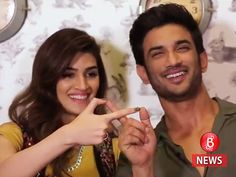 Sushant Singh Rajput and Kriti Sanon have their eyes just for each other in 'Raabta' new still