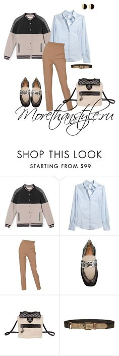 """Casual outfit"" by smileggal on Polyvore featuring мода, Jonathan Simkhai, Reiss, Hermès, Pollini, Chanel и Linea Pelle"