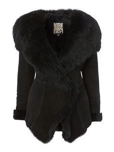 Shearling Jacket - replikate of LK Bennett 'Darwin' shearling coat
