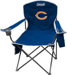 Chicago Bears Cooler Quad Tailgate Chair  #Ultimate Tailgate #Fanatics