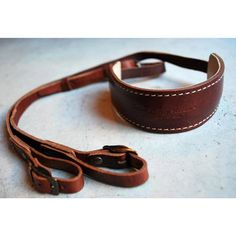 $128.00 Roberu -- Leather SLR Camera Strap -- buy online -- Union Los Angeles